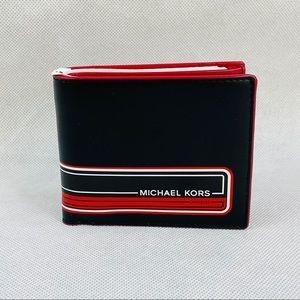 NEW Mens Michael Kors Wallet Leather Billfold Kent
